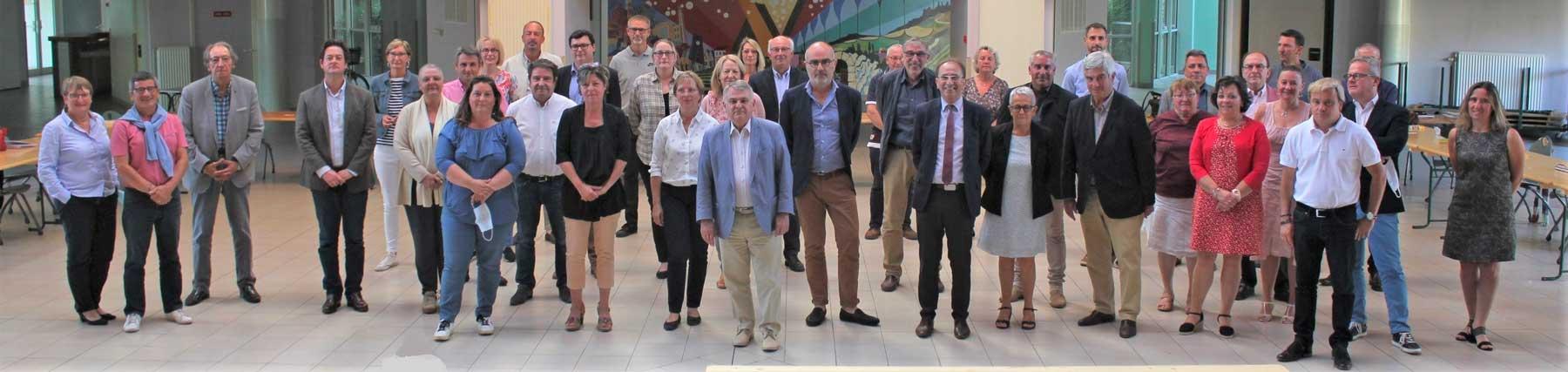 Membres du conseil communautaire de la CCGVM